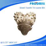 13 3/4inch IADC127 Tricone Steel Bits