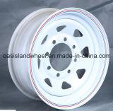 (15X7 15X8 16X7 16X8) 4X4 Steel Trailer Wheel