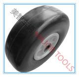 10 Inch Flat Free PU Foam Rubber Trolley Wheel Tire 3.00-4