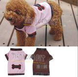 Japanese Pink Bow-Tie Dog T-Shirt (YJ73559)