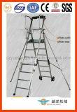 Aluminium Folding Adjustable Platform Step Ladder