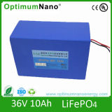 36V 10ah LED Light Battery Lithium Battery