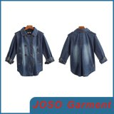 100% Pure Cotton Fashion Denim Women Jackets (JC4012)