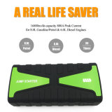 16800mAh 800A Peak Portable Jump Starter Mini Car Battery for Emergency Situations