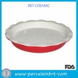 Round 9 Inch Ceramic Pie Plates
