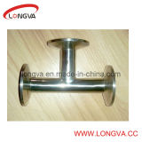 Food Grade Ss 316L Clamp T Fitting