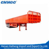CCC ISO Approved 3 Axles Light Duty Side Wall Semi Trailer