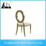 Antique Gold Metal Dining Room Chairs