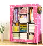 Fabric Storage Wardrobe Portable Shoe Clothes Hanging Shelf Bedroom Rack Sliding Wardrobe Doors