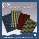 Blended Hybrid Fabric Compounded by Carbon Fiber and Aramid Fiber