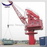 Lattice Boom Gear Luffing Port Fixed Crane
