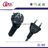 AC Adapter Cable AC Power Cable EU Adapter Cable 3-Prong 2pin Power Cord EU Standard Extension Cord