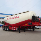 3 Axle 45m3 Bulk Cement Tank Trailer with Air Compressor
