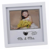 First Year Baby Photo Frame Pine Wood Frame Image