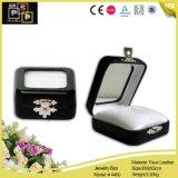 Fashion Black Leather Packing Box Jewelry Gift Box (4460)