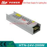 24V 8A LED Power Supply with Ce RoHS Bis Htn-Series