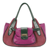Contrast Color Most Fashionable Lady Handbags (MBNO030033)