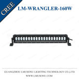 4X4 Accessories Offroad Jeep Wrangler LED Light Bar CREE White 160W 25 Inch Waterproof IP67