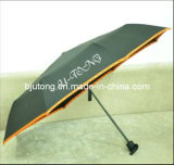 Cheaper Promotion Umbrella, 3 Folds with Logo Printing as Ytq-30908