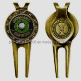 Golf Divot Tool with Magnetic Ball Marker (JINJU-GA0091)