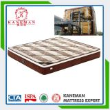 Beautiful Euro Pillow Top Pocket Spring Mattress Made in China