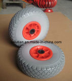 PU Foam Wheel with Steel Rim