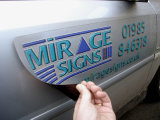 Vehicle Magnetic Sign, Car Advertising Magnetic Sticker