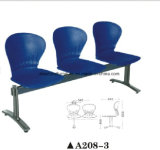 3-Seater Plastic Public Waiting Airport Chair