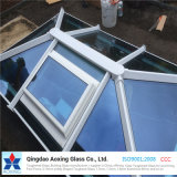 Blue Tint Heat Reflective Glass for Roof