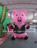 Inflatable Huge Advertising Pink Pig, Huge Inflatable Pig