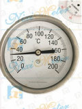 High Quality Bimetallic Thermometer in Stainless Steel
