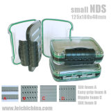Waterproof Plastic Fly Fishing Box with Easy Grip Foam NDS