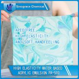 High Elasticity Water Based Acrylic Emulsion for Textile