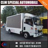 Light HOWO LED Mobile Advertising Vehicle Mobile Outdoor LED Truck