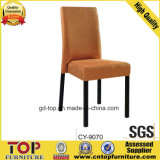 Hotel Classy Metal Fabric Chair