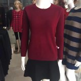 Women′s Sweater Cashmere Wool Sweater Fashion Pullover