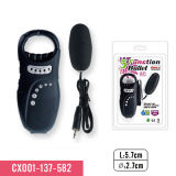 Crystal Lover 5-Function Bullet Luxurious Controller with Exquisite Diamonds Vibrating Massager