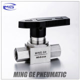 G1/4 Hydraulic High Pressure Ball Valve with G Thread Made in 304 Stainless Steel