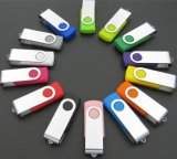 Wholesale Rotary USB Flash Drive Metal Mini Small Gift 128MB
