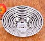 Stainless Steel 18/8 Mirror Polishing Mixing Bowl/Soup Bowl