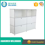 Sturdy 4 Door Steel Storage Modular DIY Office Transcube Modular Filing Cabinet
