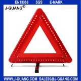 Red Perfect Performance High Quanlity Car Warning Safety Reflective Triangles (JG-A-02)
