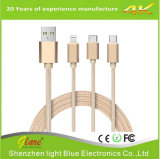 3 In 1 Universal USB Charging Cable