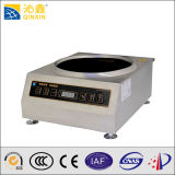 Small Restaurant Appliance Induction Wok Cooker with a Timer and CE Approved