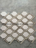 Bianco Dolomiti Marble Mosaic Tiles for Wall and Floor Decoration