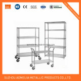 NSF Approval 6 Tiers Restaurant Kitchen Shelving Rack with Shelf