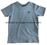 Basic Style Yarn-Dye T-Shirt for Boy