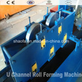 Metal Sheet U Purlin Profile Making Roll Forming Machine