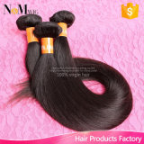 Nice Quality Human Hair Extensions / Straight Weave Bundles Virgin Indian Hair