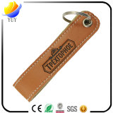 Car Logo Leather Keyring with Metal Keyring